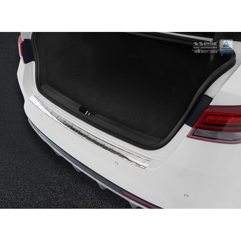 RVS Achterbumperprotector Kia Optima Sedan 2015- 'Ribs'