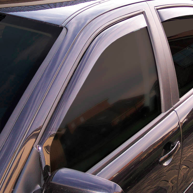 Zijwindschermen Master Dark (achter) Toyota Prius+ Wagon 2012-