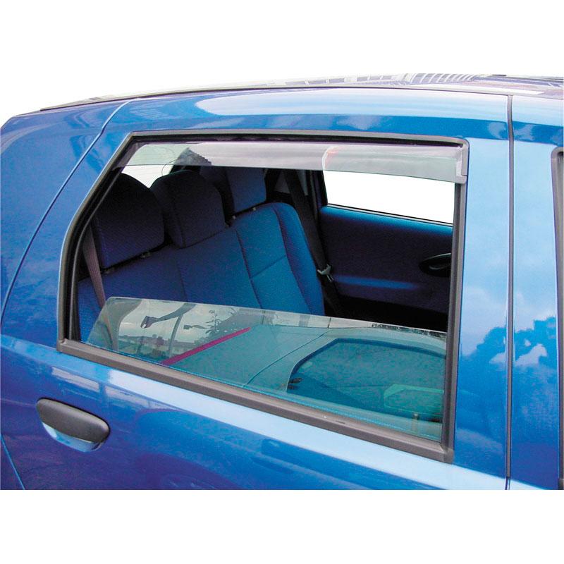 Zijwindschermen Master (achter) Ford Fiësta 5 deurs 2017-