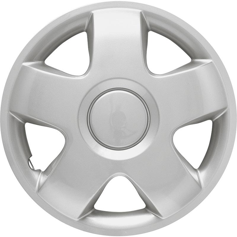 4-Delige Wieldoppenset Iowa 12-inch zilver