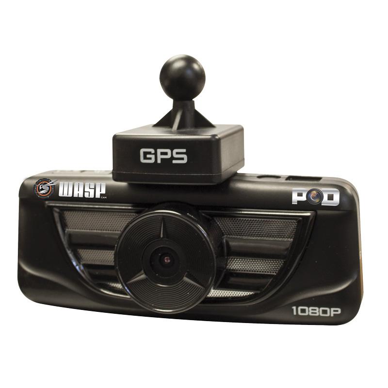 WaspCam 9401 P.O.D. 1080P HD Dashcam met DVR/OBD/GPS Functie